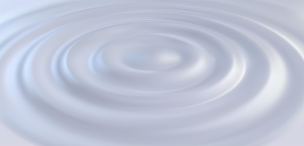 Жидкая кремовая поверхность с волнистым рисунком