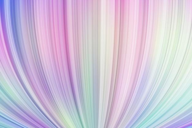 파스텔 여러 가지 빛깔의 배경에 액체 동적 소용돌이 3d 모양
