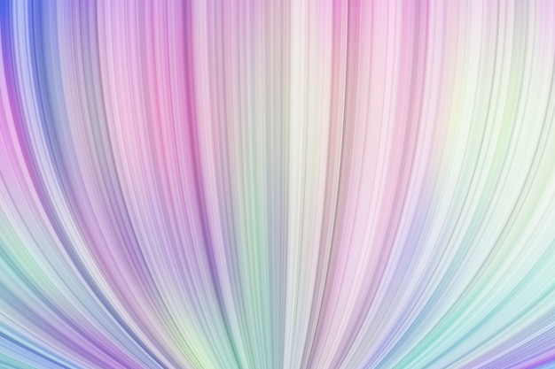 Liquid dynamic swirling 3d shapes on pastel multicoloured background