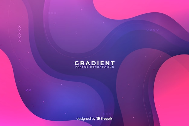 Liquid gradient backgroun