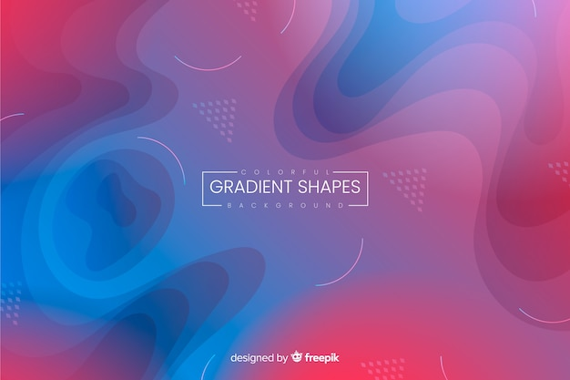 Liquid gradient backgroun