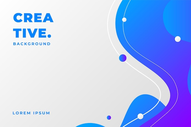 Liquid gradient color background with modern concept
