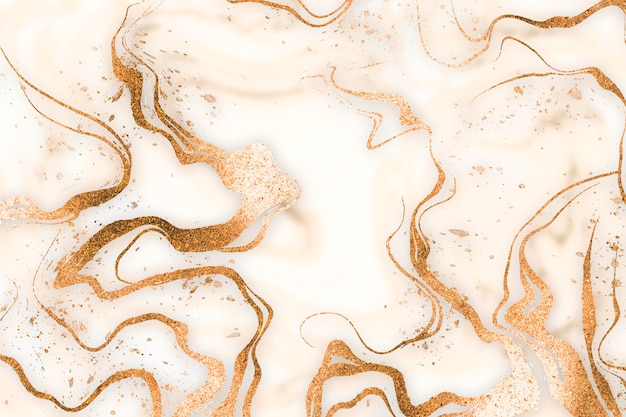 Liquid marble background
