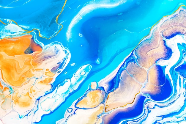 Liquid marble background