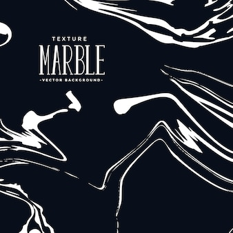 Liquid marble texture in black and white color