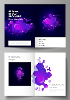 Liquid purple cover set