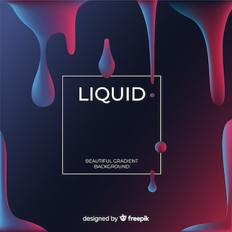 Liquid shapes background