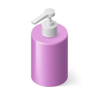 Liquid soap illustration