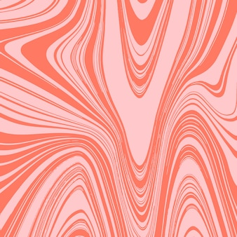 Liquify effect background with orange colors