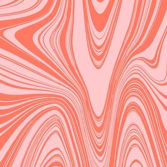 Liquify эффект фон с оранжевыми цветами