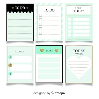 To do list collection