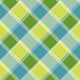 Lite color check tablecloth seamless pattern