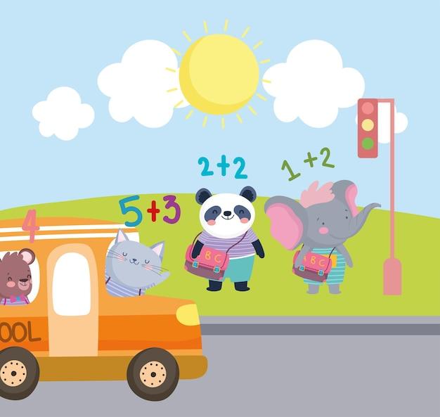 Little animals students