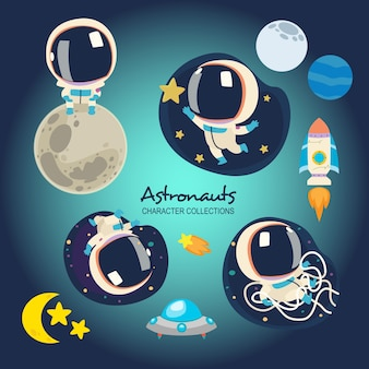 Little astronauts