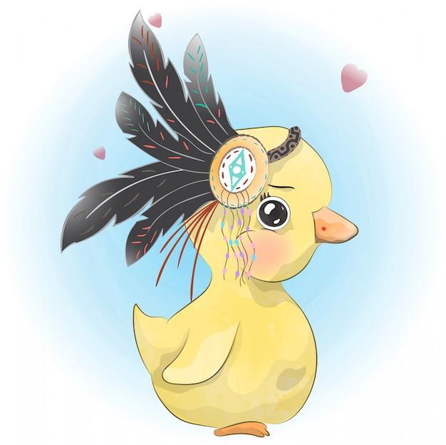 Little baby duckling