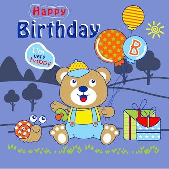 小さなお誕生日おめでとう