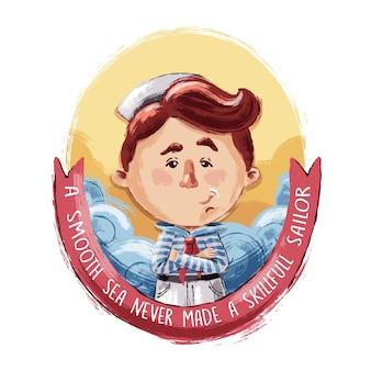 Маленький храбрый моряк