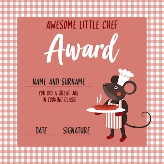 Little chef award