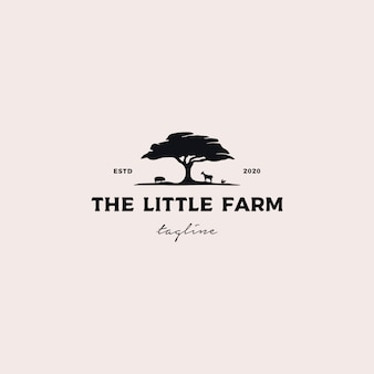 Little farm logo design