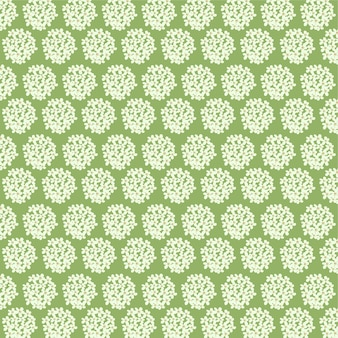 Little floral pattern on the green background floral seamless background for print