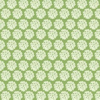 Маленький цветочный узор на зеленом фоне цветочный фон для печати
