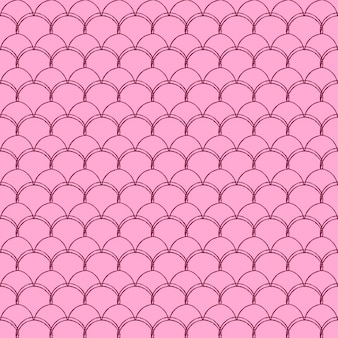 リトルマーメイドシームレスパターン