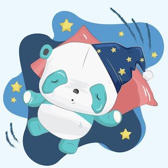 Little Panda Sleeping