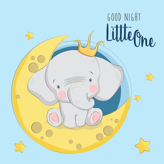 Little prince elephant