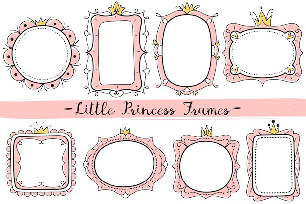 Little princess pink frames