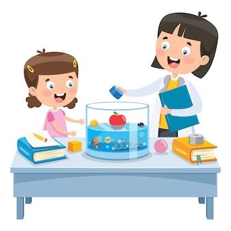 Маленький школьный эксперимент по обучению детей
