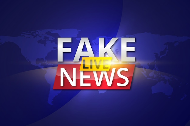 偽のニュースのストリーミング配信