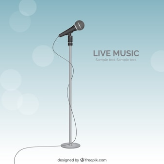 Live music Free Vector