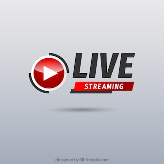Live streaming background