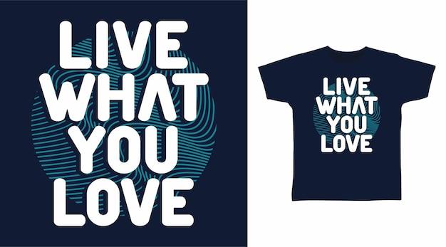 당신이 사랑하는 타이포그래피 디자인을 살아보세요