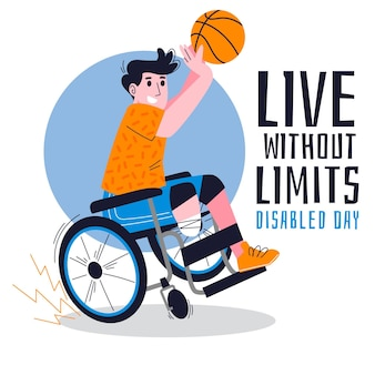 Живи без ограничений день инвалидов