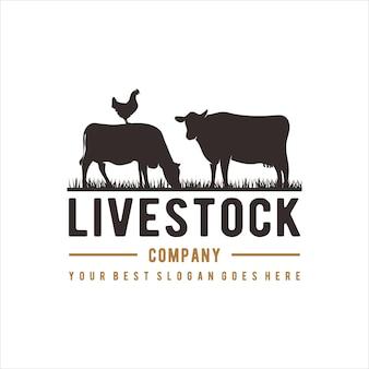Livestock logo design
