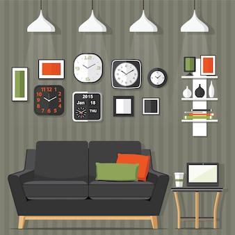 Living room modern