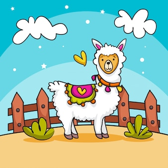 Лама любви