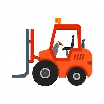 Loader heavy machinery