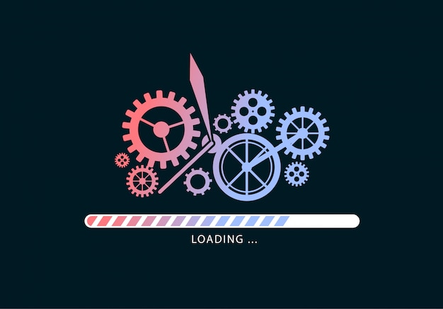 Loading files with mechanism