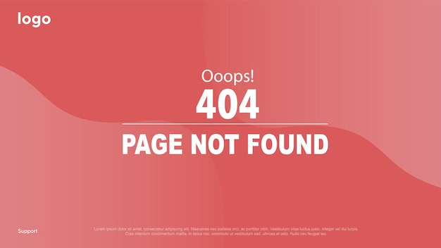 Loading page for sites error page page not found error 404 error ooops