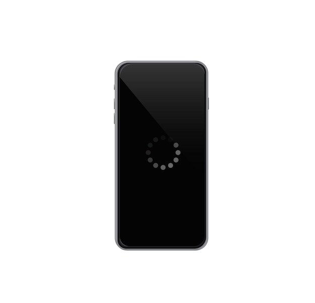 Loading screen phone loading phone  banner vector illustration