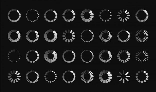 Loading symbol set