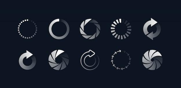 Loading symbols set
