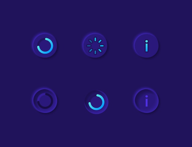 Loading ui elements kit