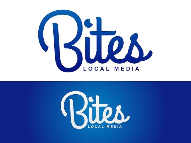 Local media logo design