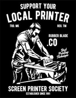 Local printer