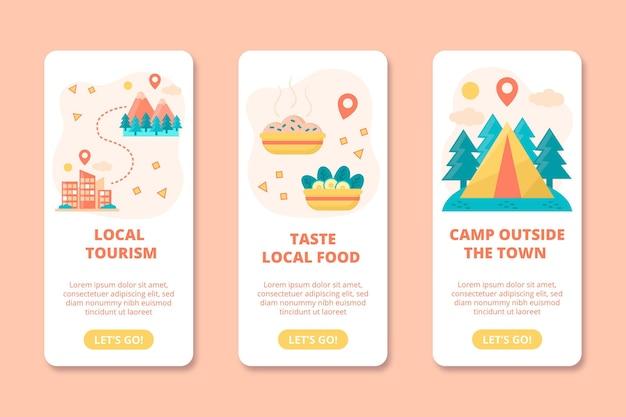 Concetto di turismo locale