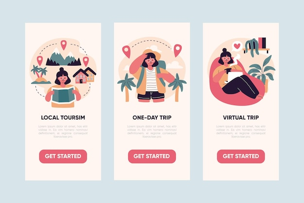 Local tourism concept