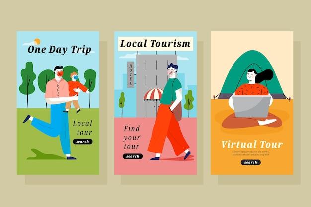 Turismo locale per un giorno fantastico
